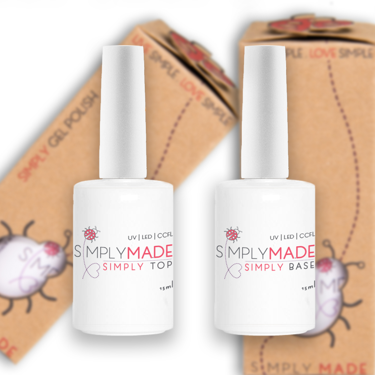 Simply Base & Top Coat SET